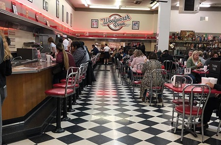 Woolworth's Lunch Counter in Bakersfield