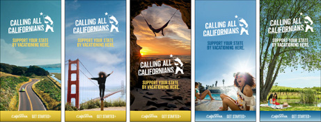 Calling All Californians digital banners