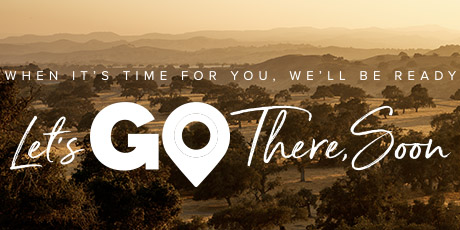 Let's go there soon promotional banner